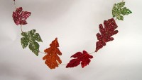 Katherine's Collection Sparkle Leaf Garland