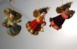 Katherine's Collection Whimsy Flying Angel Ornaments