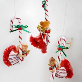 Katherine's Candy Cane Girl Ornament