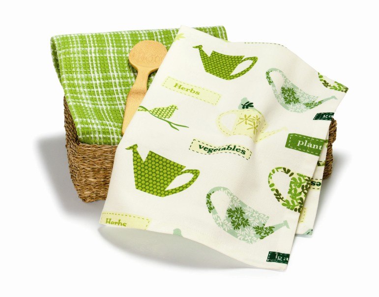 tag Watering Can Dishtowel Set