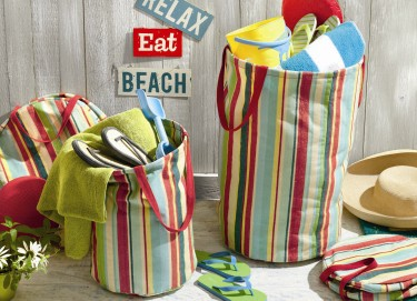tag Summer Cottage Large Crunch Bag