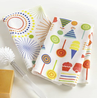 tag Party Dishtowel Set