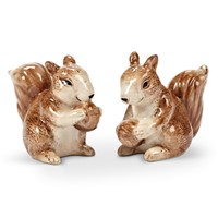 Squirrel & Acorn Salt & Pepper