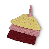 Cupcake Crocheted Pot Holder