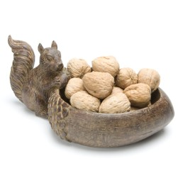 Acorn & Squirrel Nut Bowl