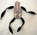 Bethany Lowe Grinning Skeleton Ornament