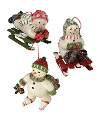 Bethany Lowe Winter Frolic Ornaments