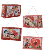Bethany Lowe Retro Valentine Candy Boxes