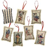 Bethany Lowe Americana Fabric Ornament