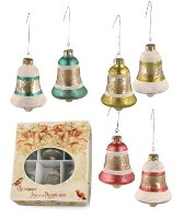 Bethany Lowe Jingle Bell Ornament Set