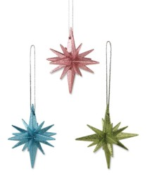 Bethany Lowe Moravian Star Ornament Pastel