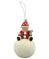 Bethany Lowe ME Winter Play Ornament
