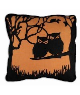 Bethany Lowe Hoot Pillow