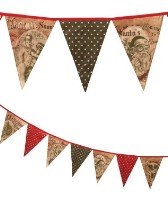 Bethany Lowe Christmas Pennant Garland