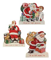 Bethany Lowe Retro Christmas Dummy Board