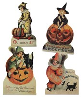 Bethany Lowe Vintage Halloween Child Dummy Boards