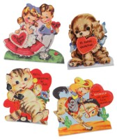 Bethany Lowe Retro Valentine Dummy Boards