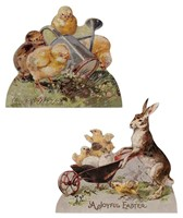 Bethany Lowe Rabbit And Chick Dummy Boards