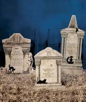 Bethany Lowe Tombstones Dummy Board Set