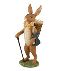Bethany Lowe Traveler Rabbit