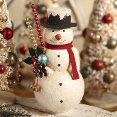 Bethany Lowe Kitschmas Snowman Container