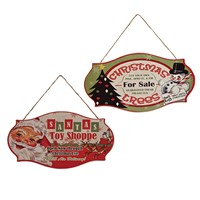Bethany Lowe Retro Christmas Signs