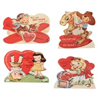 Bethany Lowe Children Valentine Dummy Boards
