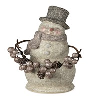 Bethany Lowe Smiley Snowman 8 inch