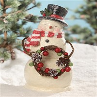 Bethany Lowe Smiley Snowman Traditional
