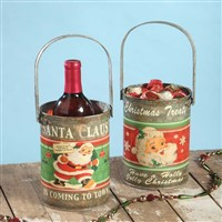 Bethany Lowe Tin Wine Bucket