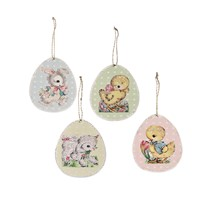 Bethany Lowe Retro Paper Easter Ornaments