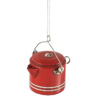 CBK Camp Coffee Pot Ornament