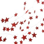 CBK Red Star Garland
