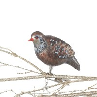 CBK Clip-On Partridge Ornament