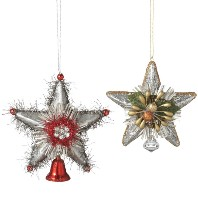 CBK Star Bell & Diamond Ornament