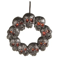 Midwest Skull LED Wreath
