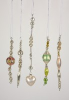 Cody Foster Vintage Bead Icicle Ornaments