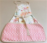 Canvas Floral Work Apron