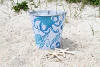 Sea Life Tin Bucket