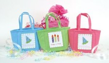 Happy Birthday Felt Gift Bag