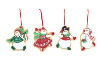 Snowman Cookie Ornaments