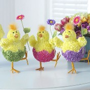 RAZ Hydrangea Dancing Chicks