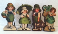 St Patrick's Day Vintage Cut outs