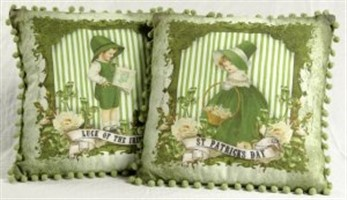 St Patrick's Day Lad & Lass Pillows