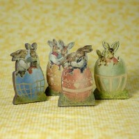 Gilded Easter Bunnies VCOs