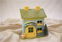 Bunny Cottage Blue