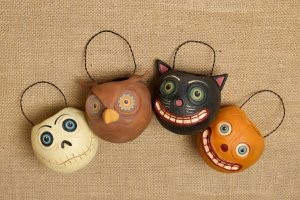 Halloween Bucket Ornaments