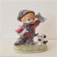 Christmas Greetings Figure