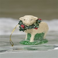 Christmas Lamb Ornament