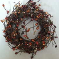 Fall Bead Wreath